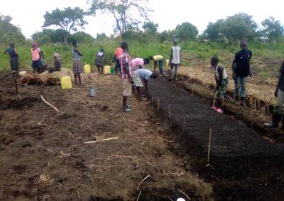 Preparing Raised Planting Beds